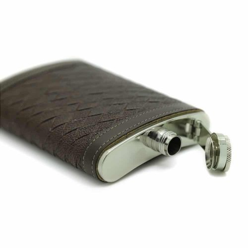 alligator-texture-stainless-steel-9oz-hip-flask-2