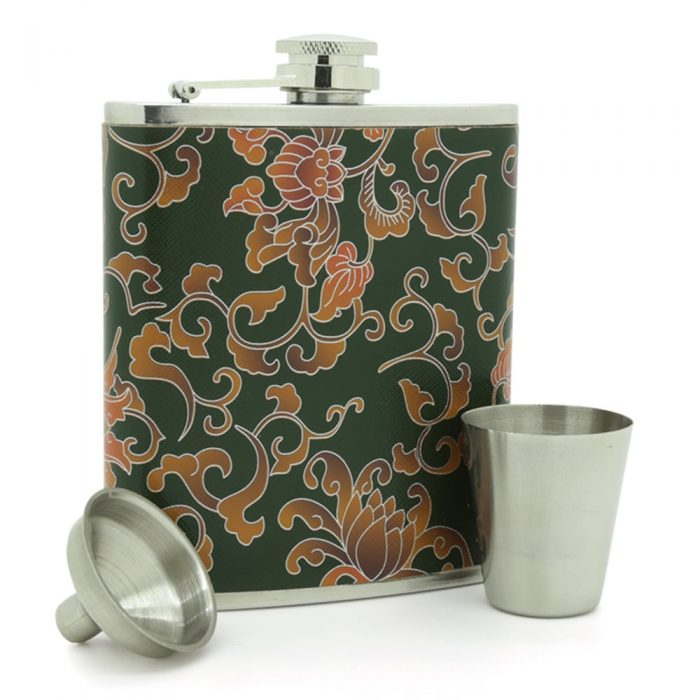 floral-pattern-stainless-steel-7oz-hip-flask-3