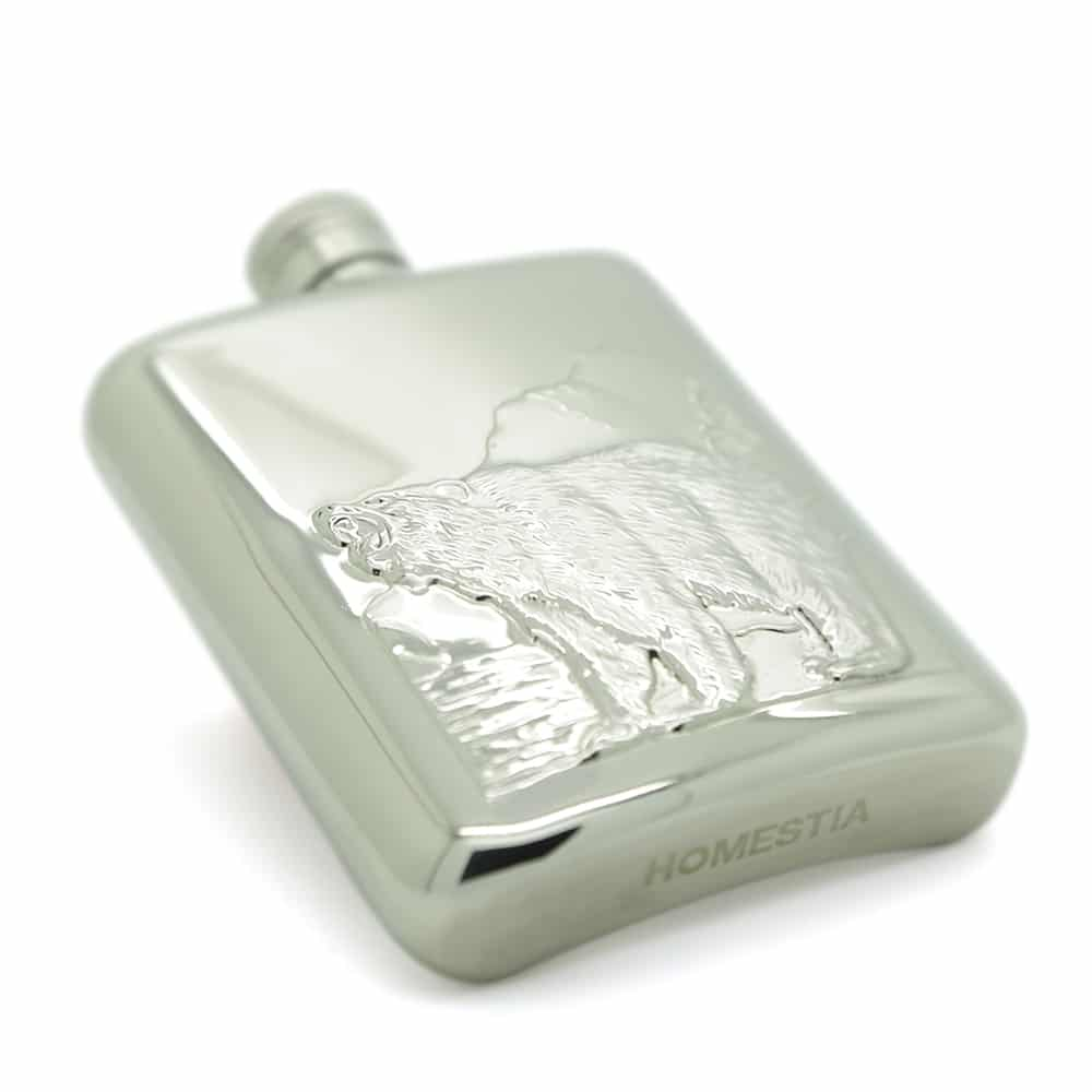 roaring-bear-6oz-stainless-steel-hip-flask-4