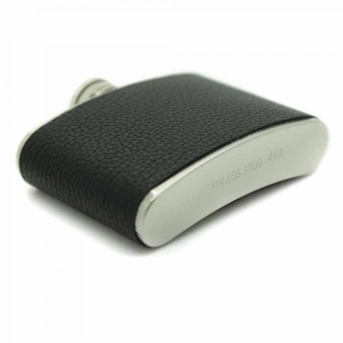 black-leather-finis- 4oz-hip-flask-4