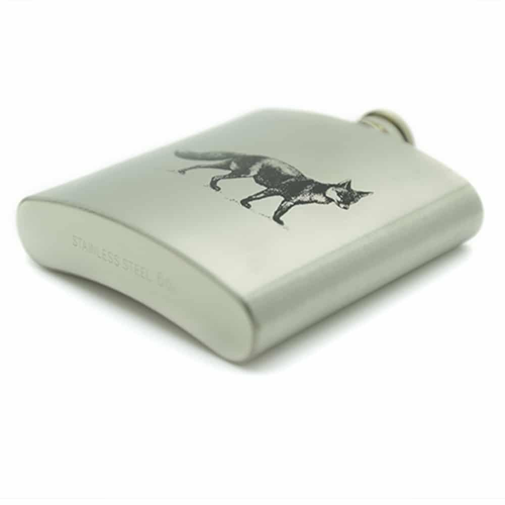 stainless-steel-fox-6oz-hip-flask-4