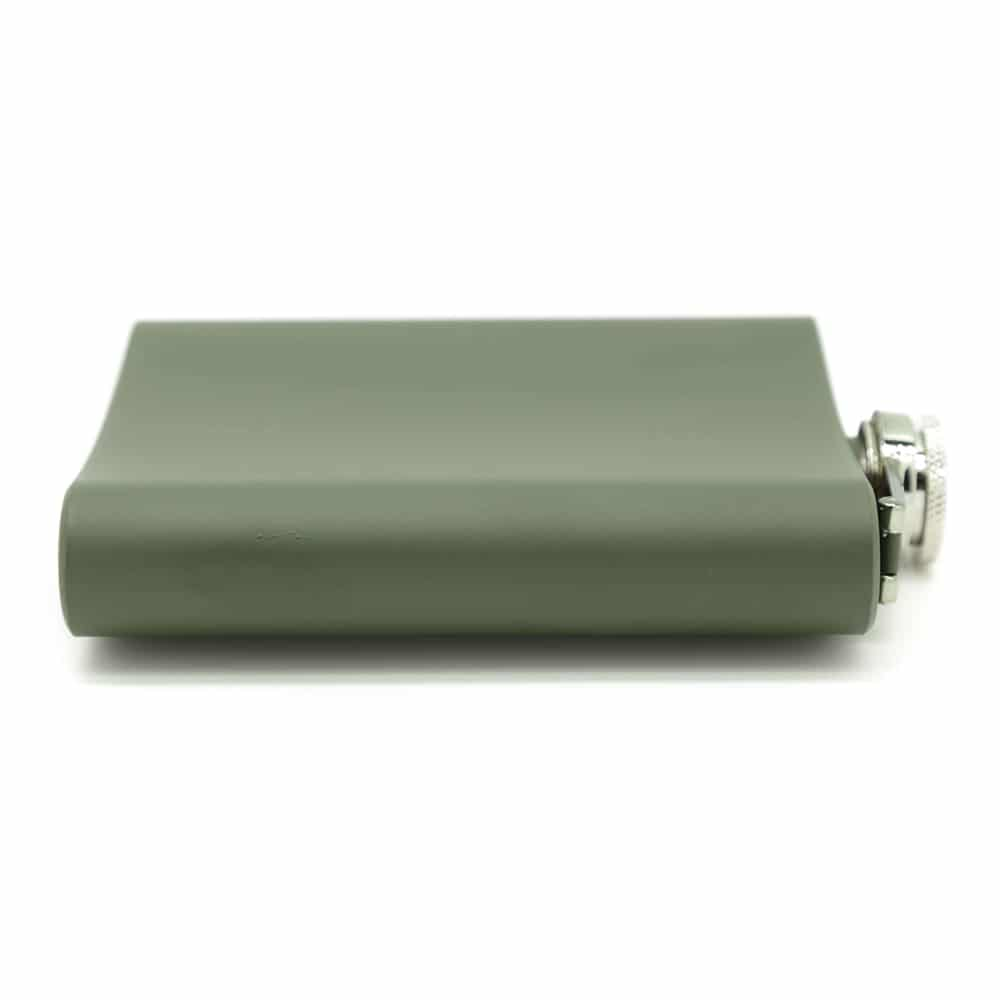 army-green-7oz-hip-flask-5