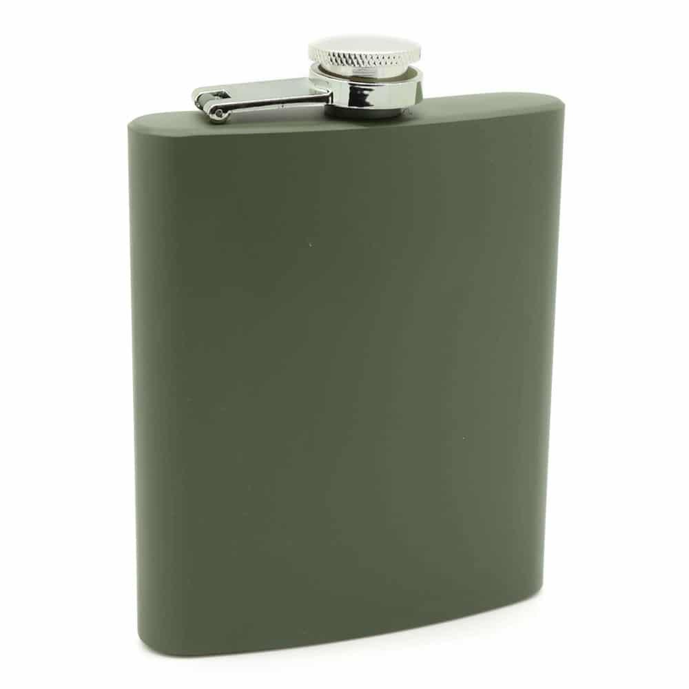 army-green-7oz-hip-flask-1