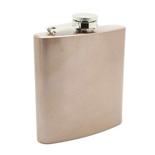 speckled-rose-gold-6oz-hip-flask-1