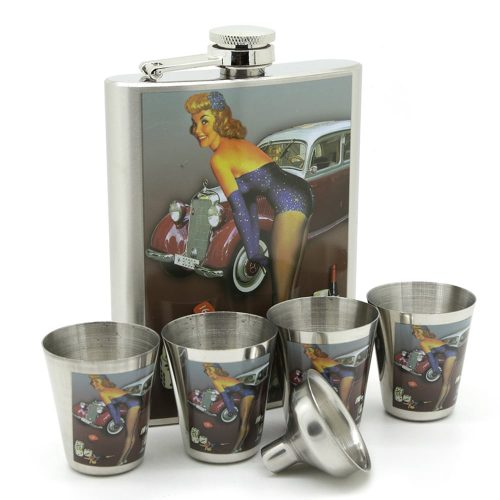 cars-dices-pin-8oz-hip-flask-set-1
