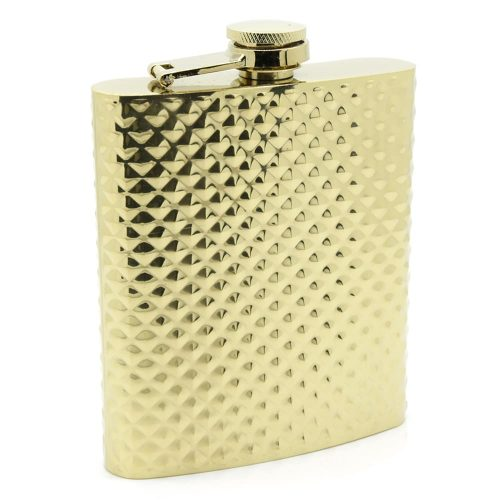 dotted-gold-8oz-hip-flask-1