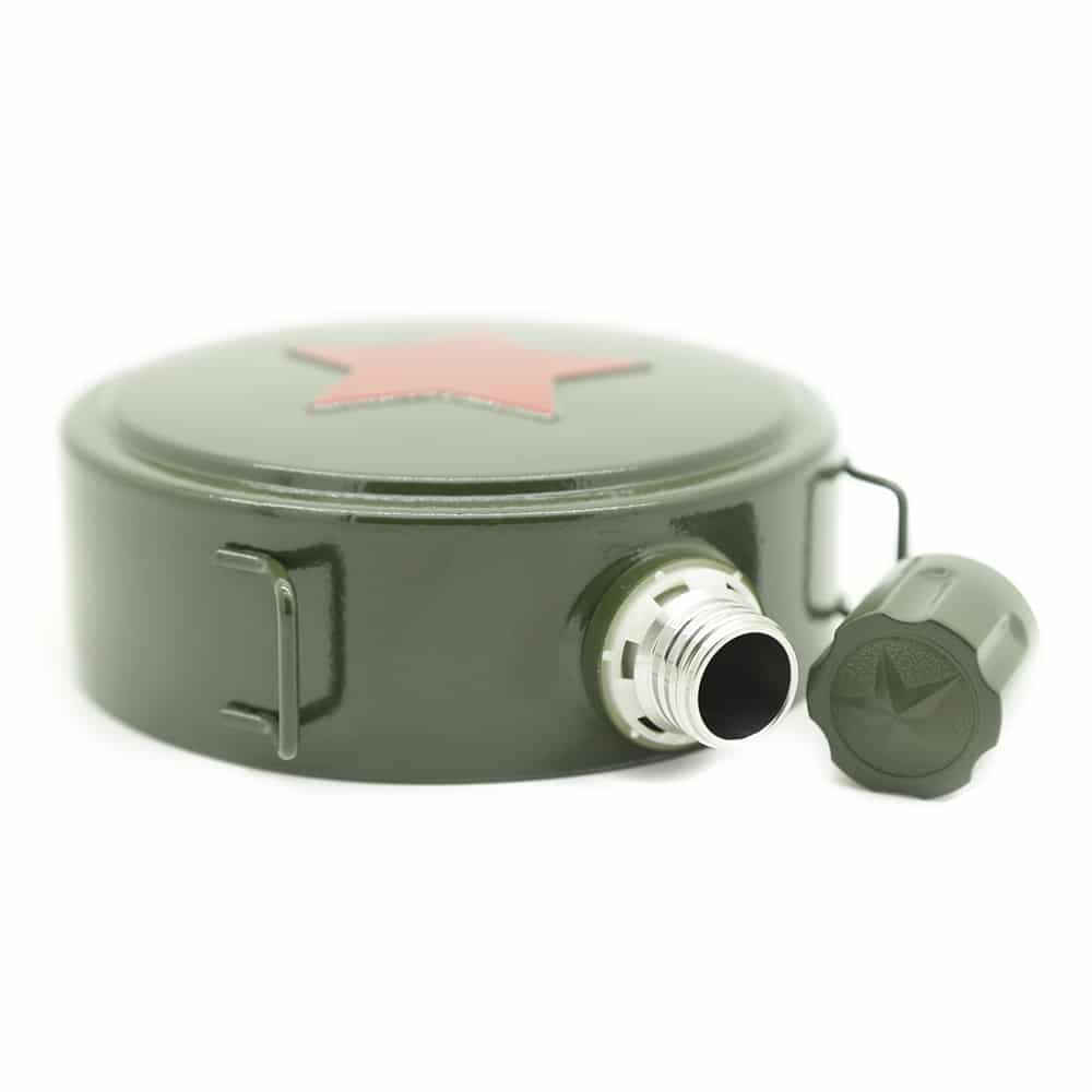 military-star-hip-flask-2
