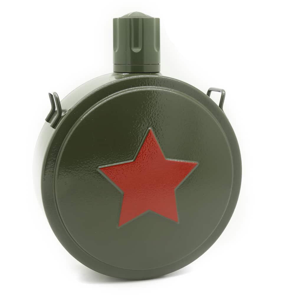 military-star-hip-flask-1
