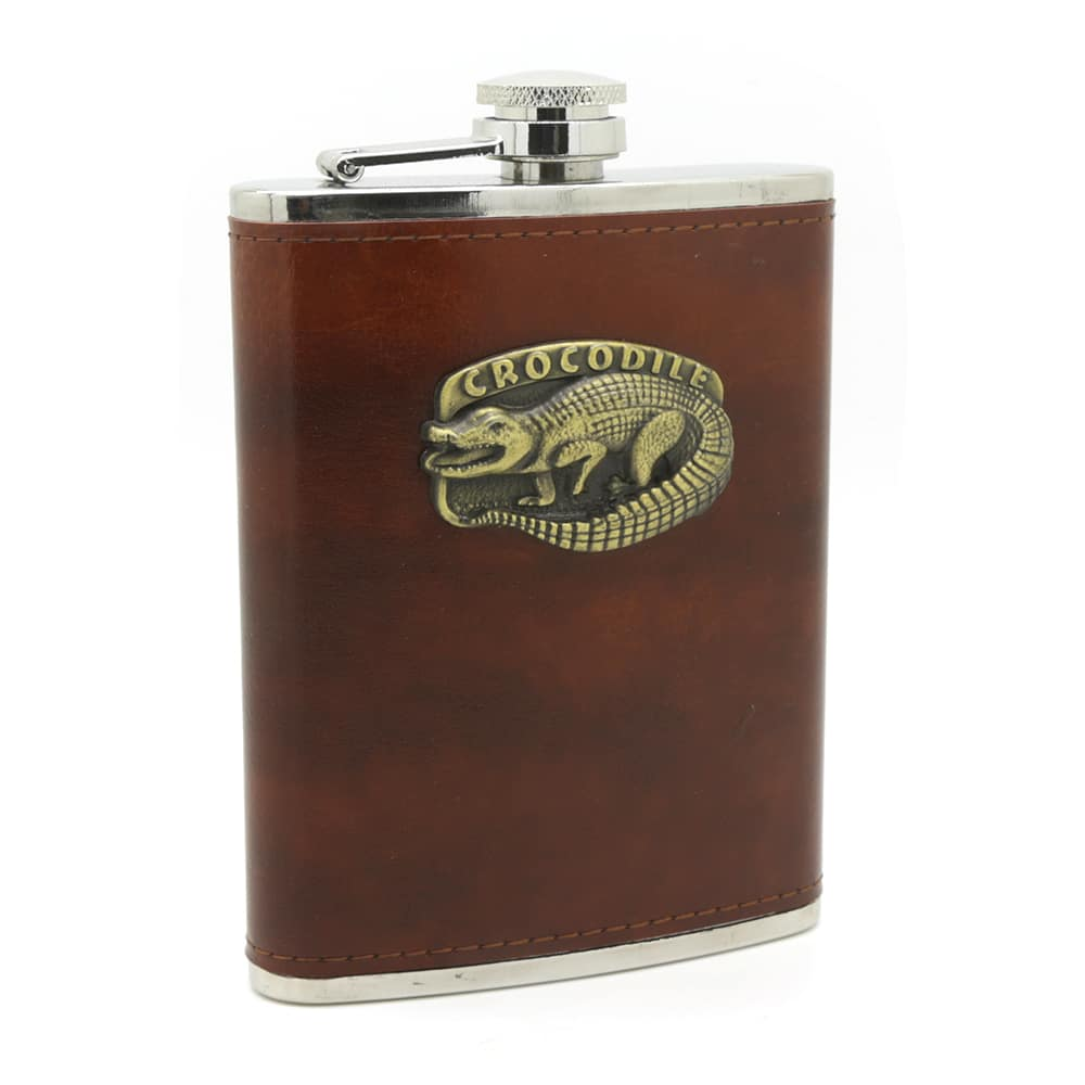 crocodile-8oz-hip-flask-1