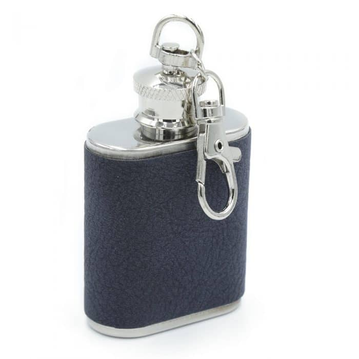 royal-blue-wrapped -1oz -keychain-flask-1