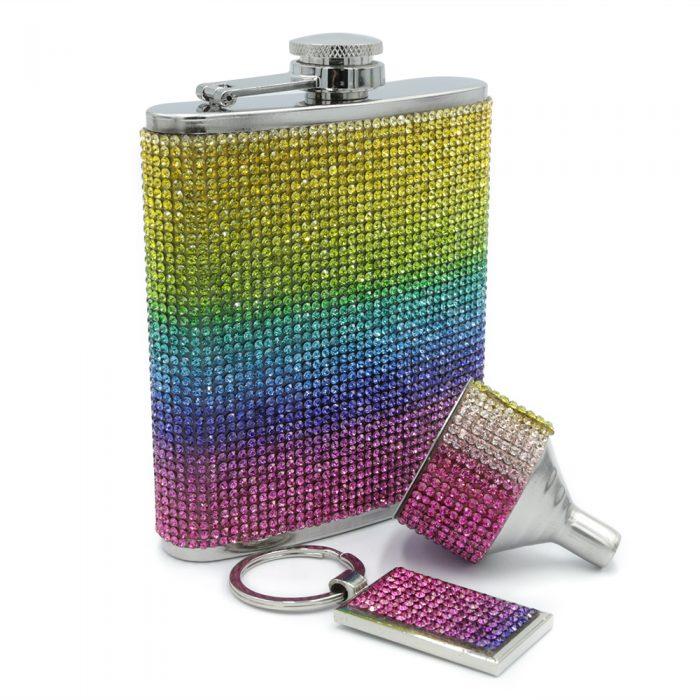 rainbow-diamond-6oz-fip-flask-set-1