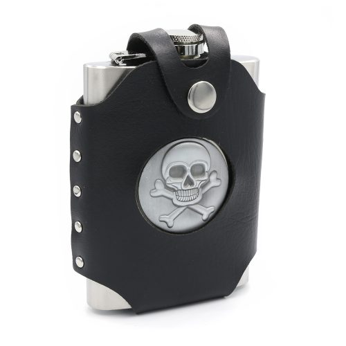skull-leather-case-8oz-hip-flask-1