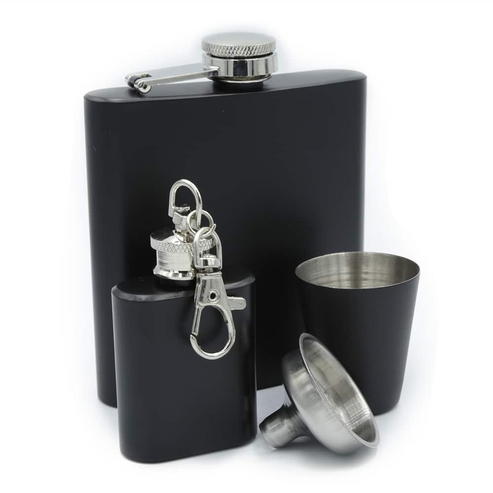 black-hip-flask-set-1