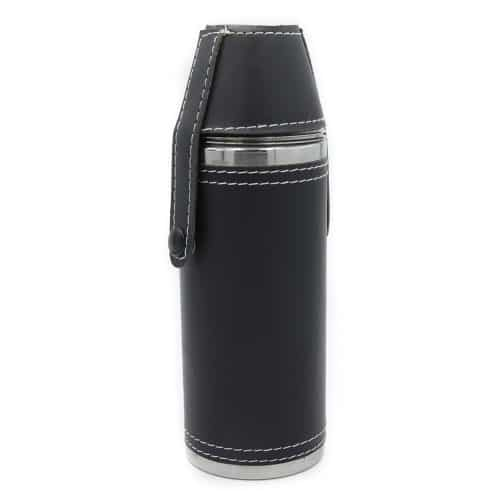black-adventure-cylinder-8oz-hip-flask-w-cups-1