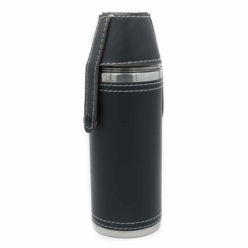 black-adventure-cylinder-8oz-hip-flask-w-cups-1