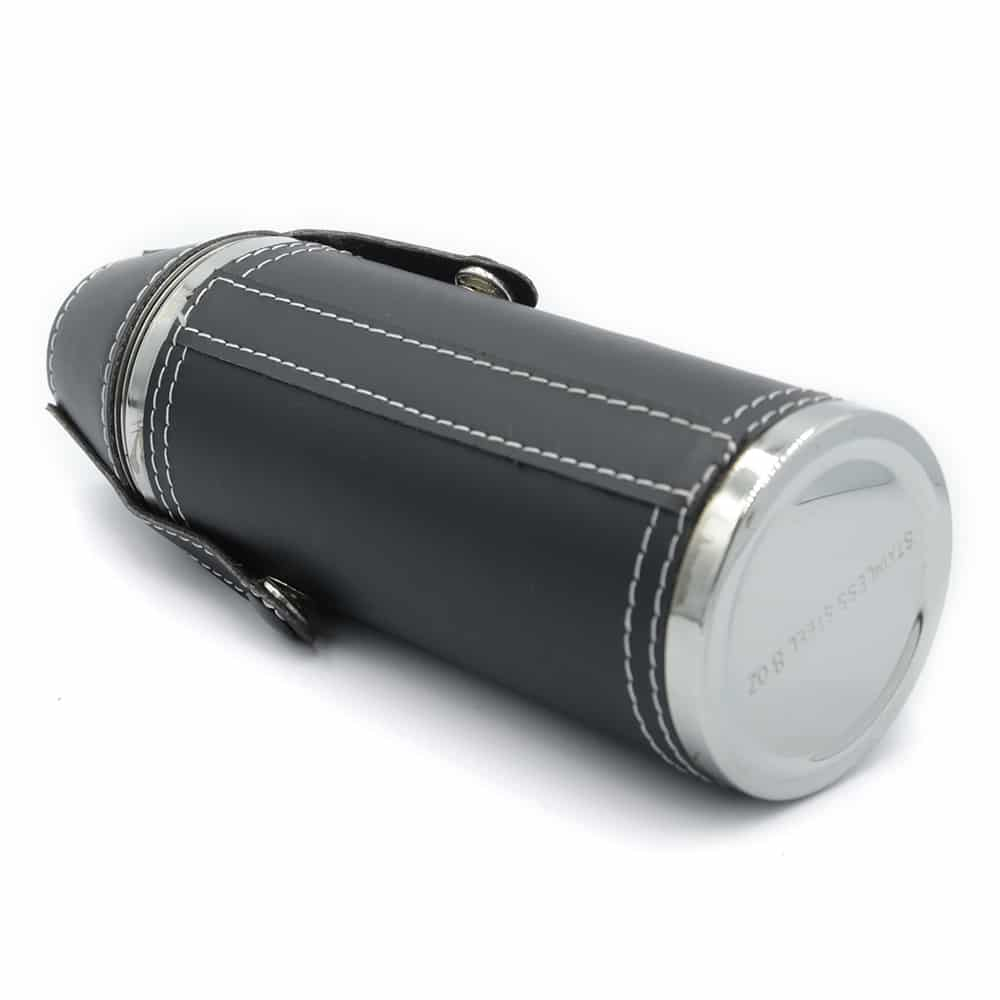 black-adventure-cylinder-8oz-hip-flask-w-cups-4