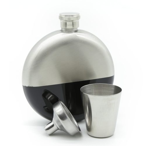 duo-tone-5oz-silver-&-black-hip-flask-1