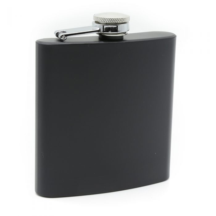 6oz-matte-black-luxury-hip-flask-box-set-1