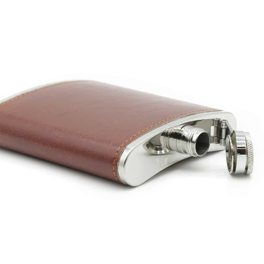 6oz-saddle-brown-luxury-hip-flask-box-set-2